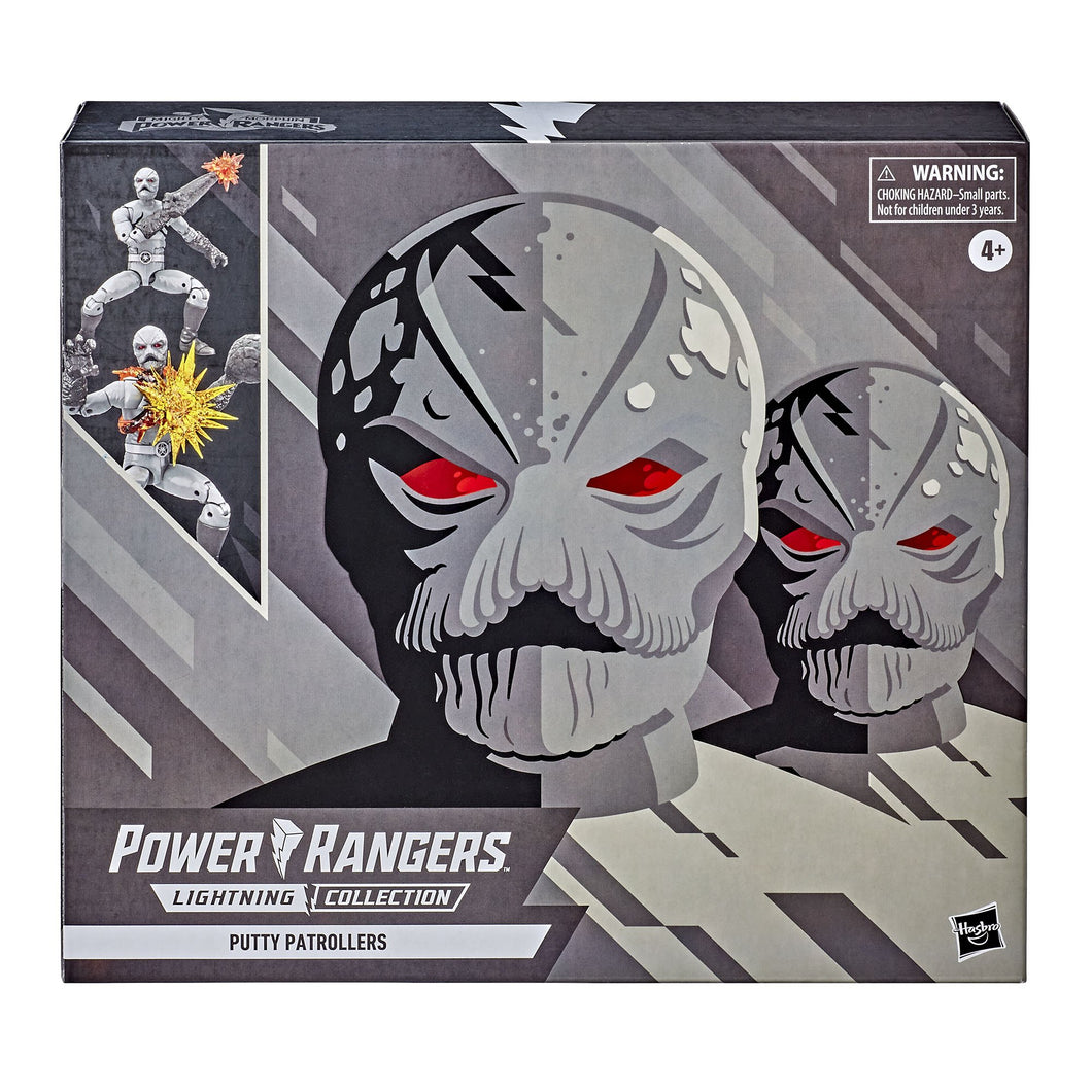Power Rangers Lightning Collection Mighty Morphin Putty Patrollers 2-Pack