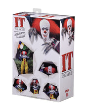 "Load image into Gallery viewer, IT – 7"" Scale Action Figure – Ultimate Pennywise (1990) v1"