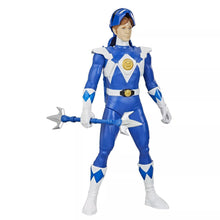 "Load image into Gallery viewer, Power Rangers Blue Ranger MMPR 12"" Blue Ranger Morphin Hero Billy"