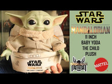 Load and play video in Gallery viewer, Star Wars The Mandalorian The Child Plush Toy Baby Yoda 11""