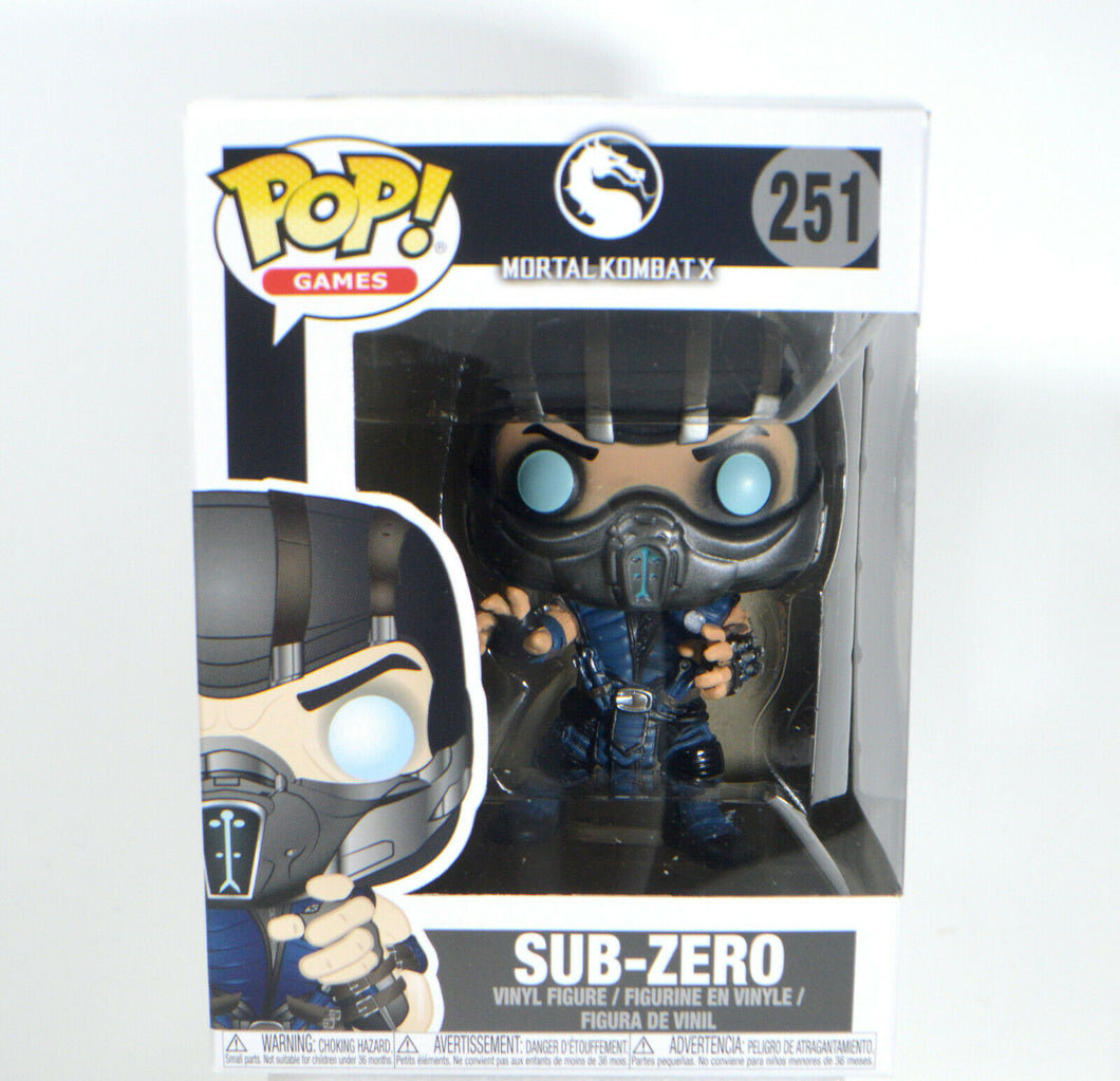 Funko Pop! Mortal Kombat X Sub-Zero Pop! Vinyl Figure #251