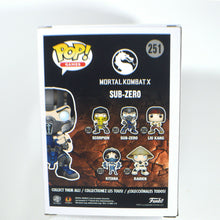 Load image into Gallery viewer, Funko Pop! Mortal Kombat X Sub-Zero Pop! Vinyl Figure #251