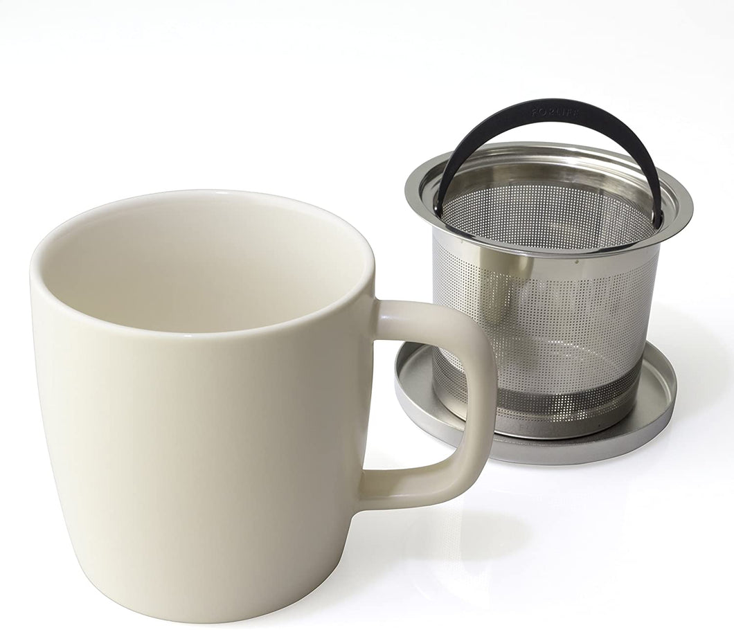 FORLIFE Dew Infuser Mug 11oz - Natural Cotton