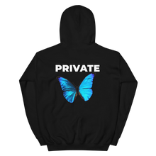 Load image into Gallery viewer, Private Blue Butterfly Club Europe Utopia Pullover Hoodie