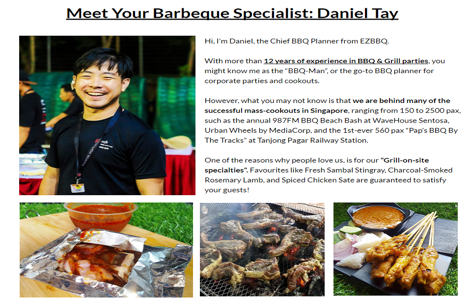 Bbq Catering Events Ezbbq Bbq Wholesale Bbq Catering Singapore