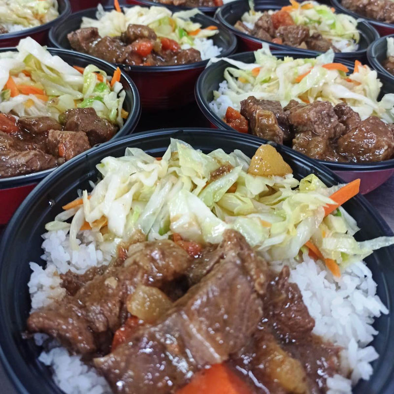 Canton Stewed Beef Bowl (Set of 5s)