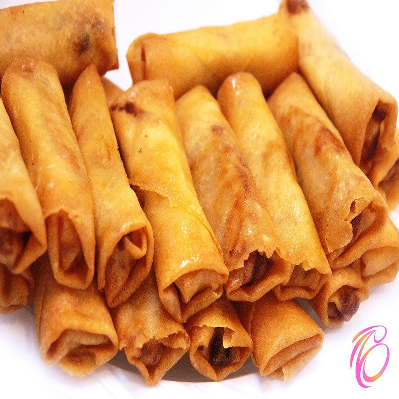 Fried Vegetarian Spring Rolls (10 pcs)