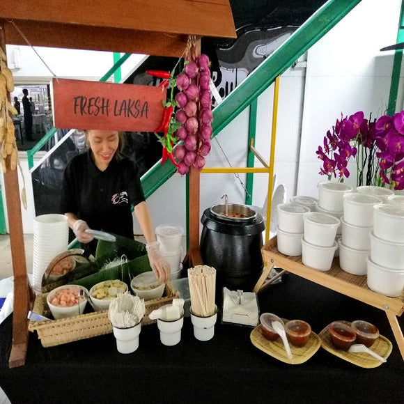 Booth - Fresh Laksa Serving Station