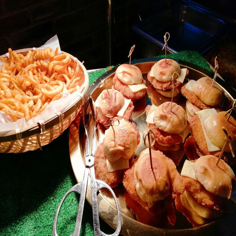 Booth - Wagyu Sliders w/ Fries