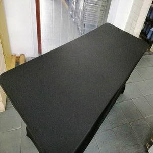 Rental - 6 Ft Table w/ Black Tablecloth
