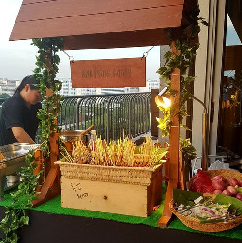 Booth - Jumbo Mixed Satay