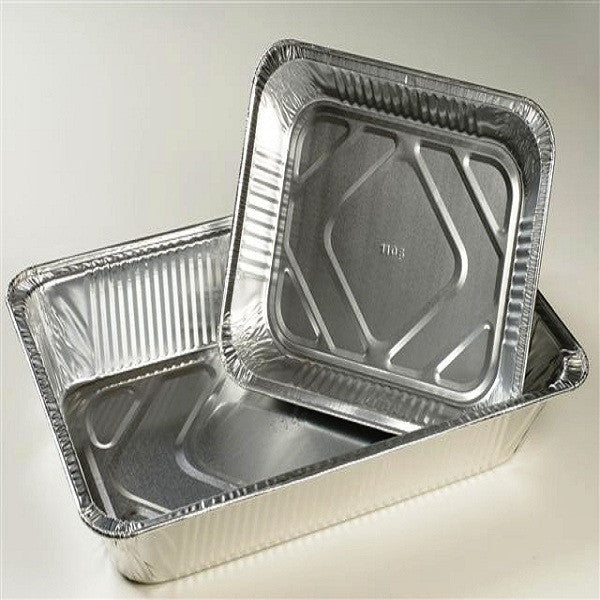 Set of 3 Aluminium Trays (A4)