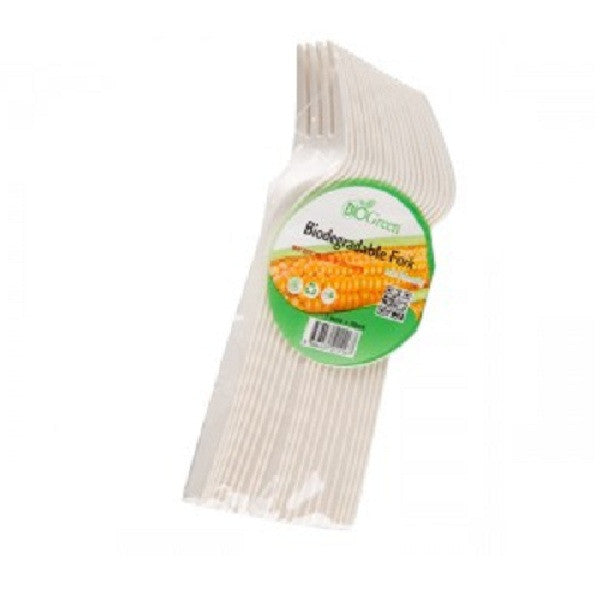 Bio-degradable  Forks (50 pcs)