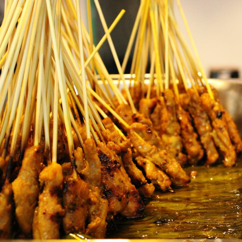 Grilled Chicken Satay Set (30 sticks)