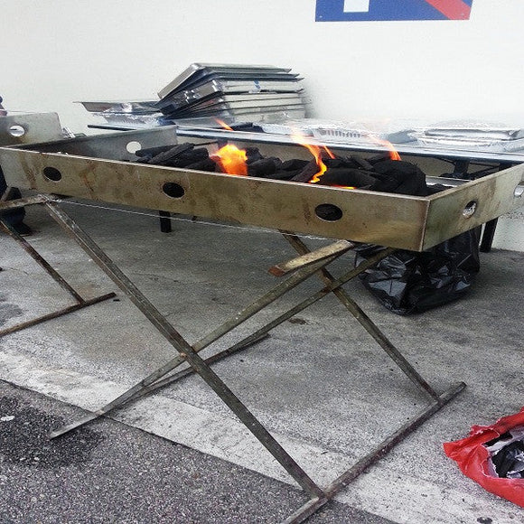 Rental BBQ Pit Set (43cm x 80cm) ($50 Deposit Included)