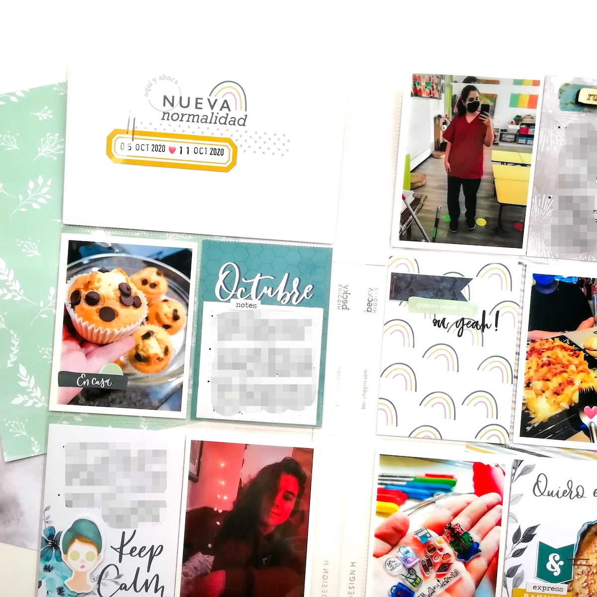 El Project Life de Marta | Kit Indigo