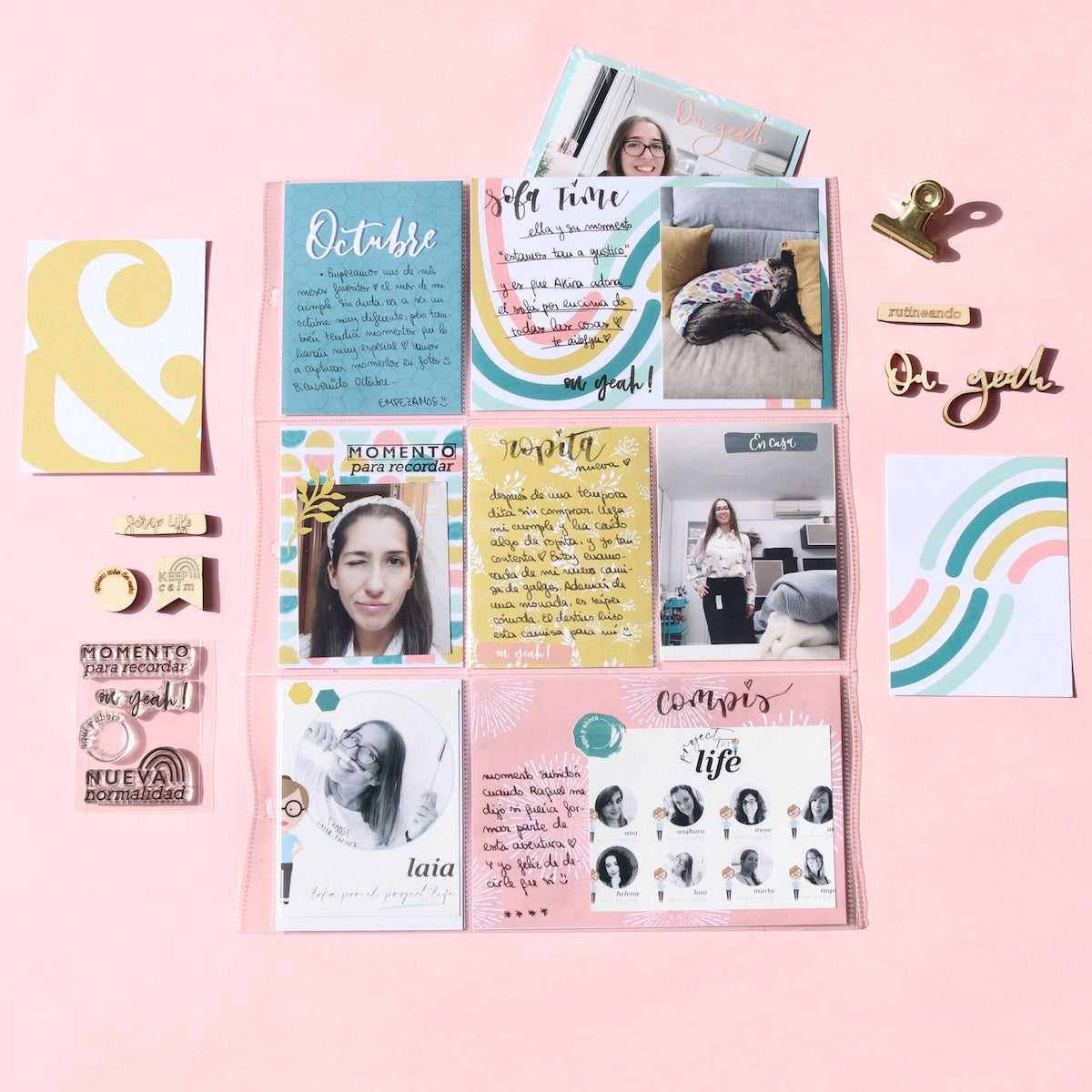 El Project Life de Laia | Kit Indigo