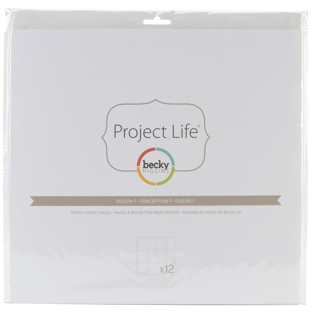 "Fundas de Project Life 12x12"" Becky Higgins 11D"