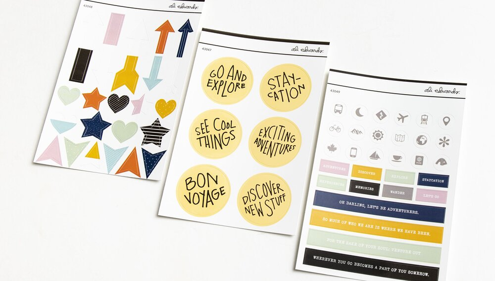 Stickers Travel Journal