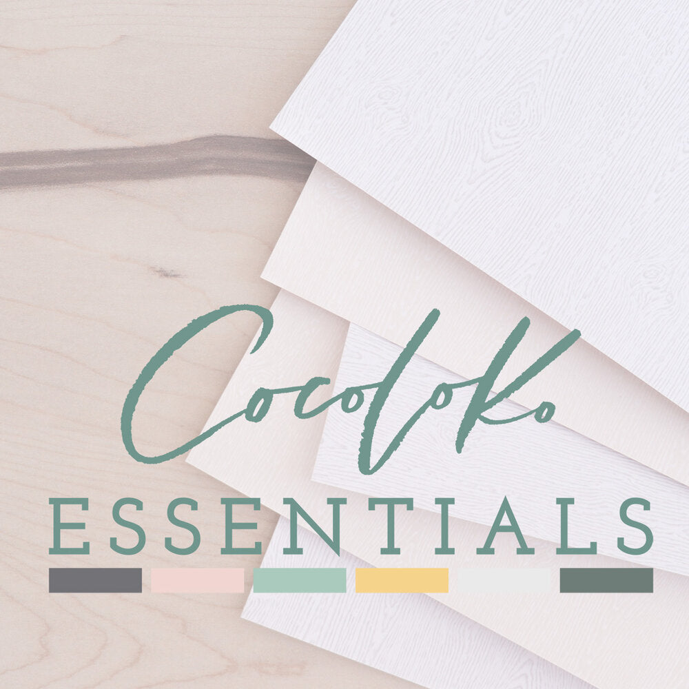 Pack de 12 Cartulinas PASTEL MATT de Cocoloko ESSENTIALS