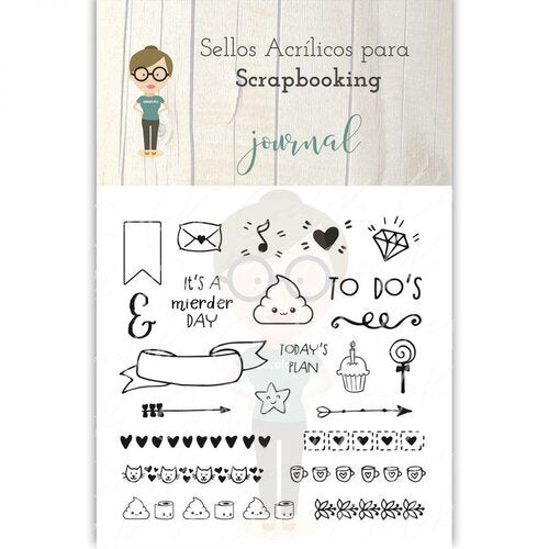 Sellos de Scrapbooking Journal