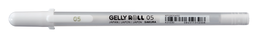 Bolígrafo Gelly Roll Blanco 05