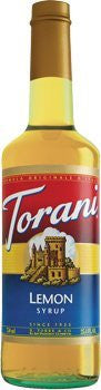 Torani Lemon Syrup 750 mL (pack of three)