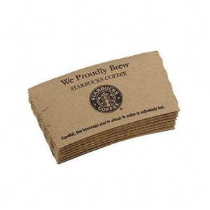Sbk11003101 - Hot Cup Sleeves, 1380/ct, Brown Kraft