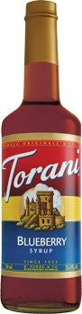 Torani Blueberry Syrup 750 mL (pack of three)
