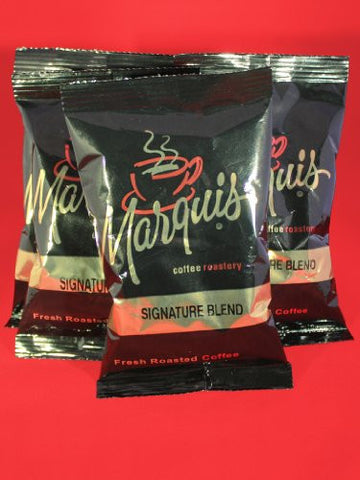 Marquis Colombian Decaf Ground Coffee Packages 1.5oz