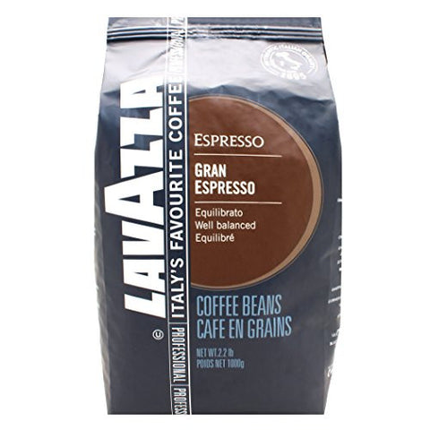 Lavazza Grand Espresso Whole Bean, 2.2-Pound Bag