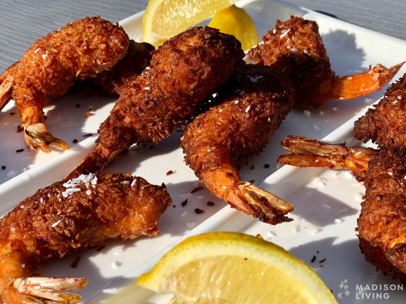 Recipe of the Month:  Pancake-Battered Coconut Shrimp