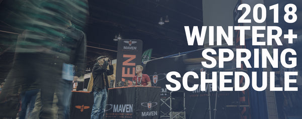 Maven Event Schedule | Winter/Spring 2018