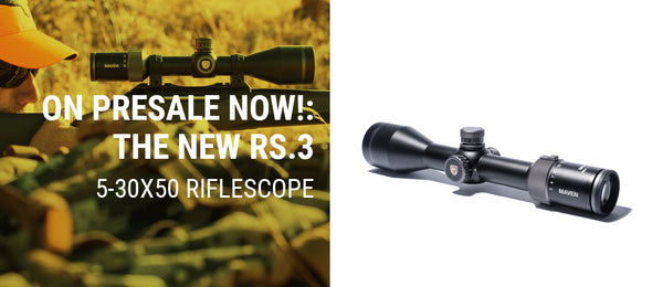 NEW: THE RS.3 5-30x50MM RIFLESCOPE