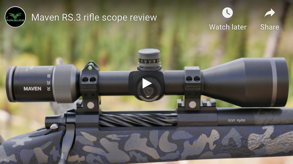 Maven RS.3 rifle scope review