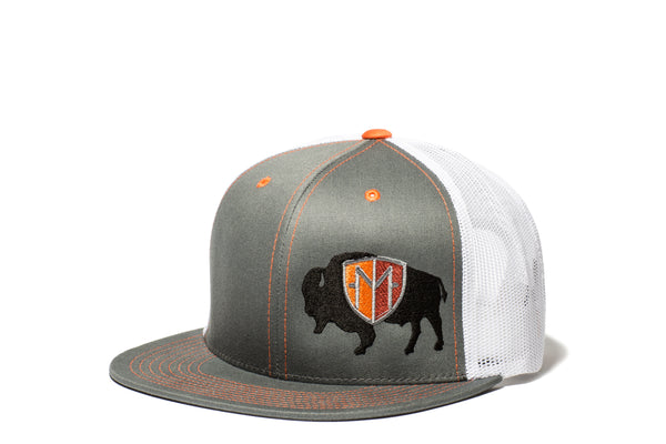 Branded Bison Meshback Hat