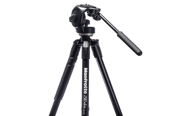 Manfrotto 290Xtra Tripod/128RC Micro Fluid Pan Combo