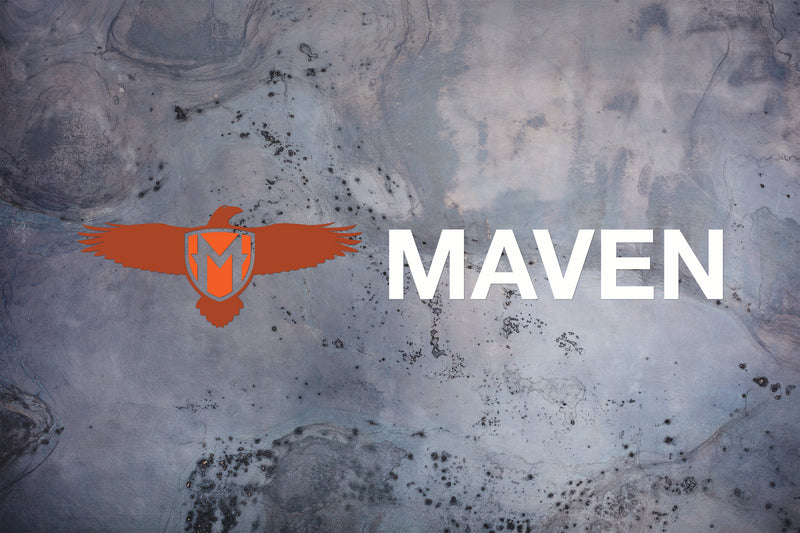 "Medium Maven - 16""x 3"" / Decal"