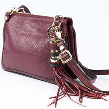 Load image into Gallery viewer, Plinio Visona Francesca Italian Leather Cross Body Bag