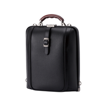 Load image into Gallery viewer, Artphere Dulles Backpack Men's Black Leather