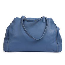 Load image into Gallery viewer, Plinio Visona Zucchero Full Grain Calf Leather Large Ladies Handbag