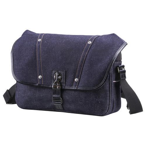 Toyooka 'Ibar' Japanese Denim Small Messenger Bag