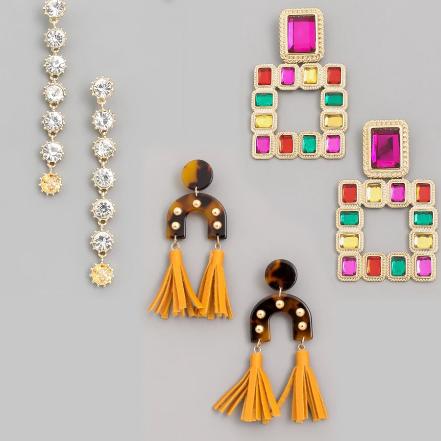 Gold Rush Boutique Earrings