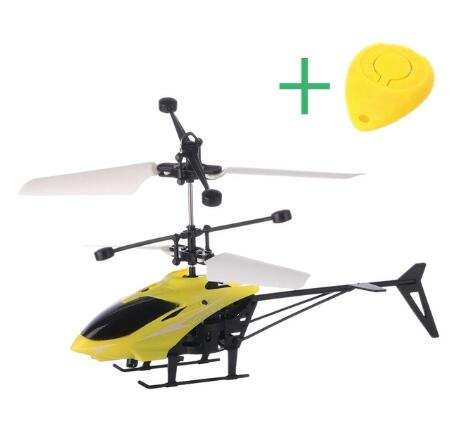 Mini RC Drone Helicopter Infraed Induction 2 Channel Electronic Drone Aircraft Quadcopter