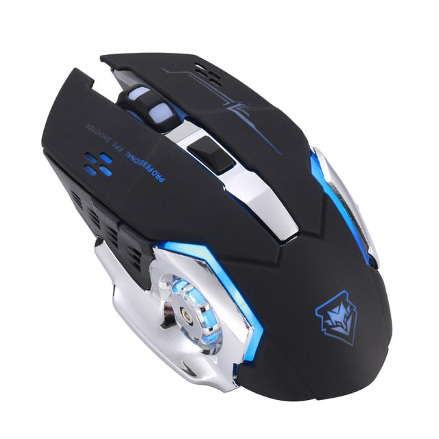 light up wireless gaming mouse for pc