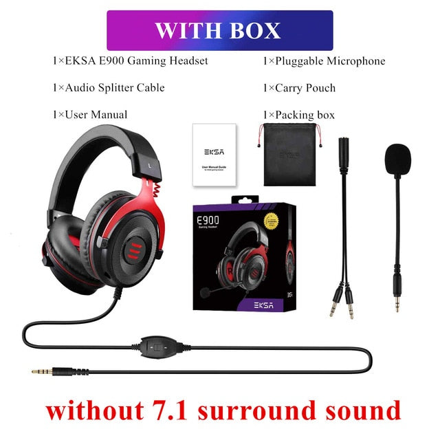 7.1 Surround Sound Gaming Headset