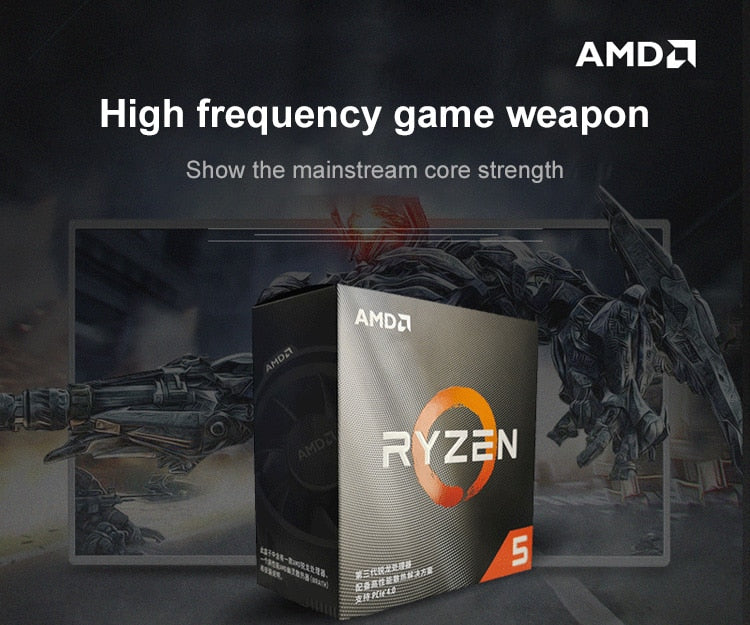 RYZEN R5 3600 CPU Processor Gaming motherboard