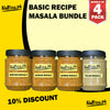 Recipe Masala Bundle (Pack of 4)