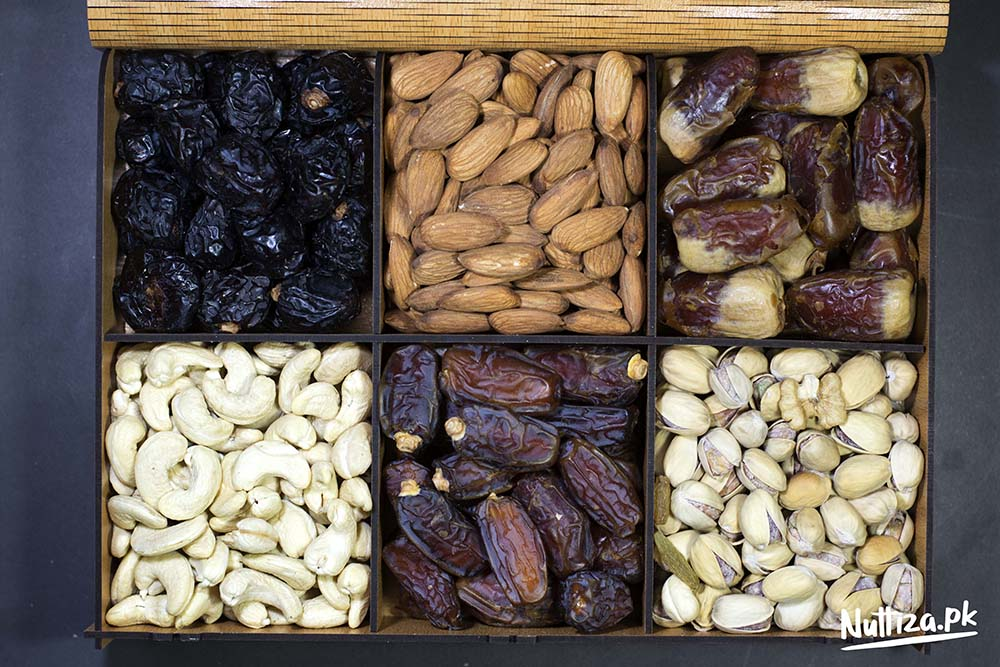 Dryfruits/Dates Gift Tray (6 Portion)