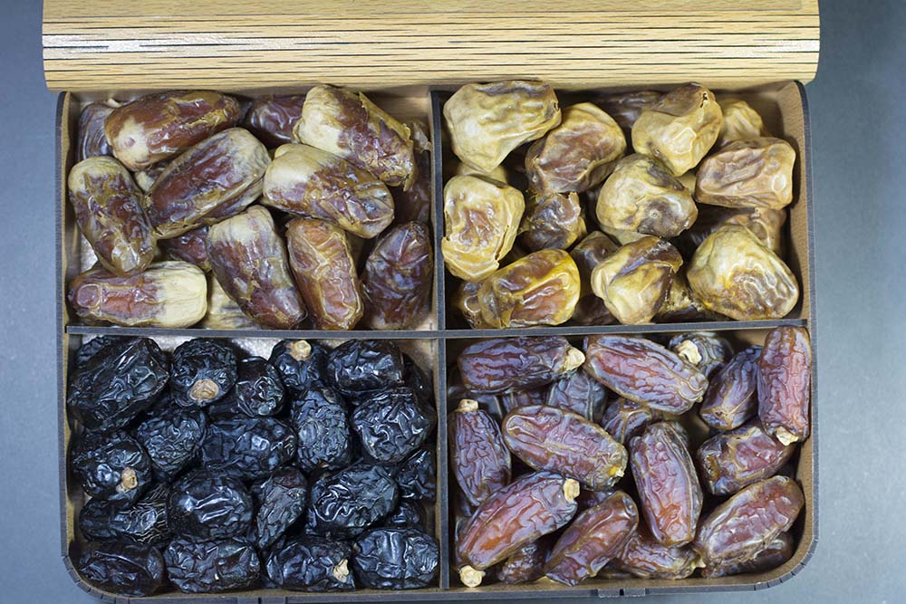 Dates Gift Tray (4 Portion)